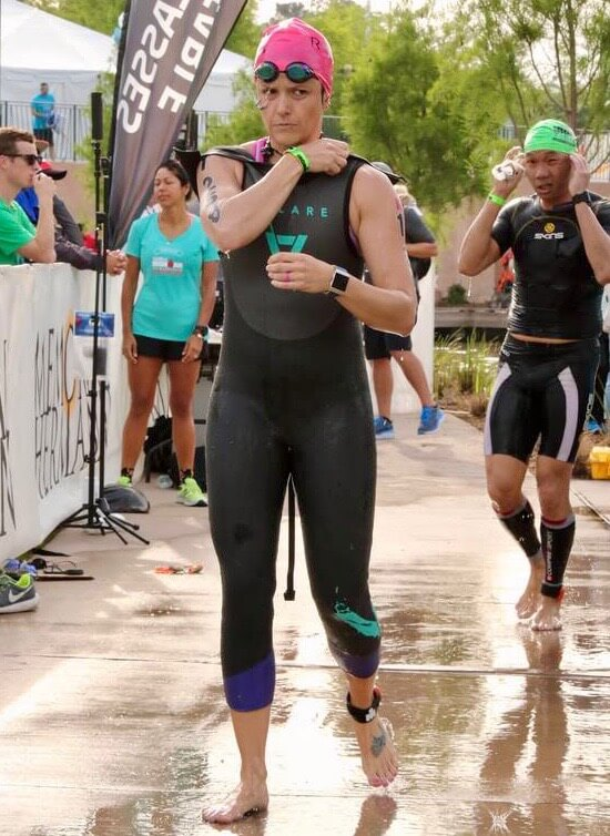 Member feature - Lindsey Triathlon