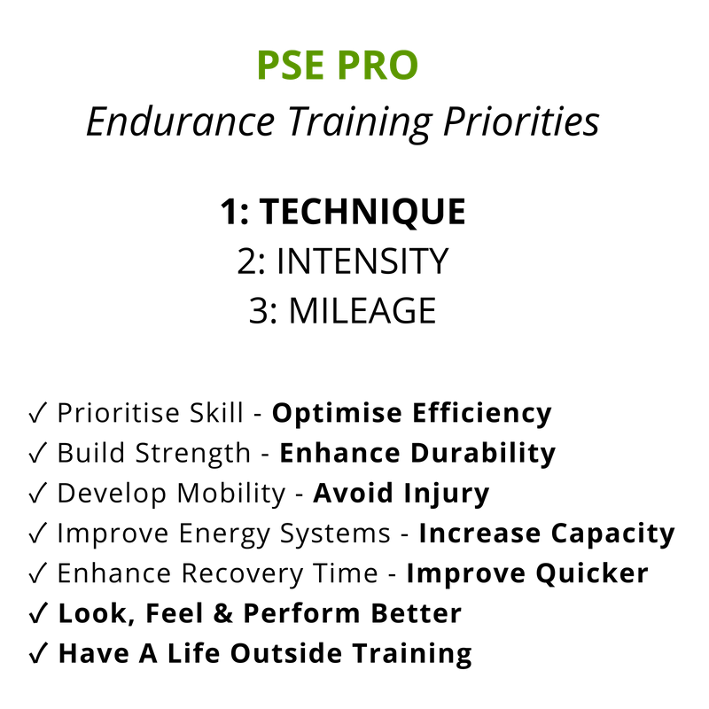 PSE PRO - SMART ENDURANCE TRAINING